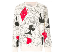 house of cards print sweatshirt