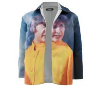 Wendbare Oversized-Jacke mit Print