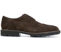 Derby-Schuhe mit Budapester