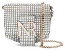 embellished logo mini bag