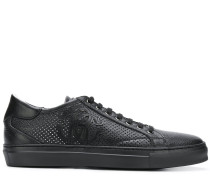 perforated low top sneakers