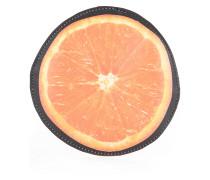 Münztäschchen im Orange-Design