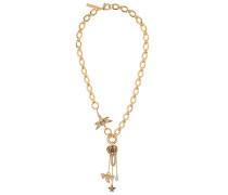 Halskette mit breiten Gliedern