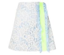 lace ruffle trim skirt