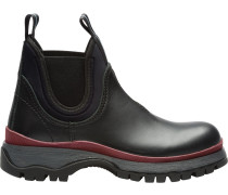 Sawtooth sole boots