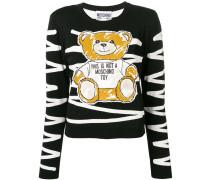 Pullover mit Teddy-Patch
