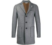 raw seam coat