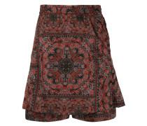 Shorts mit Bandana-Print