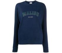 'Malibu' Pullover mit Vintage-Print