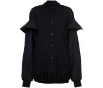 blouson sleeve bomber jacket