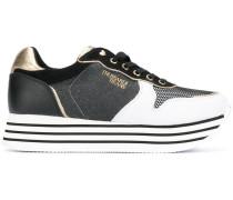 Sneakers mit Blockabsatz