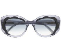 Runde Sonnenbrille im 80s-Look