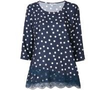 polka-dot blouse