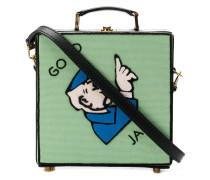 'Go To Jail' Schultertasche