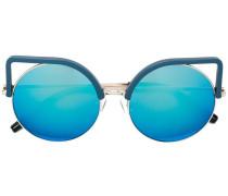 X Linda Farrow Cat-Eye-Sonnenbrille