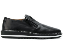 Loafer mit Reißverschlüssen