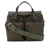 Laptop-Tasche mit aufgesetzter Tasche