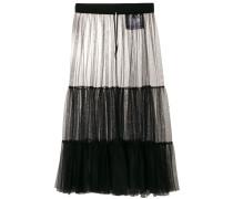 over-the-knee mesh skirt