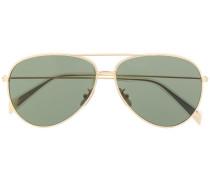 '02' Sonnenbrille im Aviator-Design