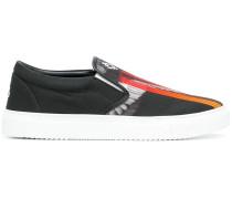 Slip-On-Sneakers mit Flügel-Print