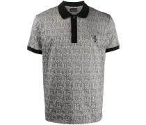 all-over logo print polo shirt