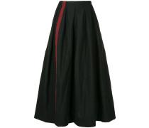 stripe trim skirt
