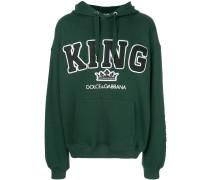"Kapuzenpullover mit ""King""-Schriftzug"