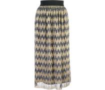 sheer patterned skirt