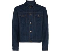 Denim Jacket with Rear Label