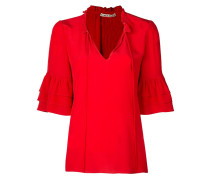 Julius ruffle sleeve blouse