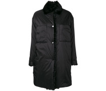 fur collar down jacket