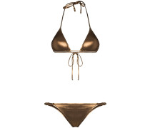 'Scrunchie' Triangel-Bikini