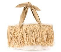 Gewebte Strandtasche