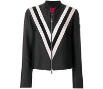 racer striped bomber jacket
