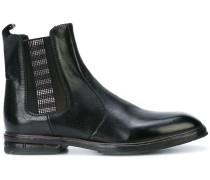 Chelsea-Boots mit flacher Ledersohle