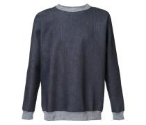Sweatshirt mit Jeans-Effekt