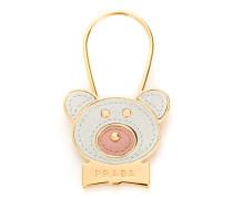 Teddybär-Schlüsselanhänger