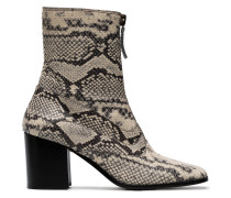 Quacey 70 Python ankle boots