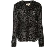 Bluse mit Leopardenmuster