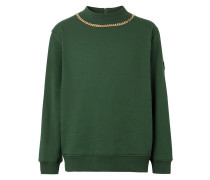 Sweatshirt mit Zierkette