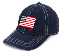 Baseballkappe mit aufgestickter Flagge