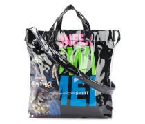 PVC shopper tote bag
