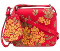 jacquard shoulder bag