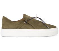 Slip-On-Sneakers mit breiter Sohle