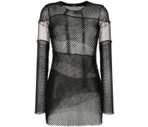 T-Aki mesh fabric top