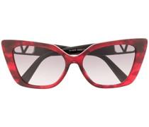 Cat-Eye-Sonnenbrille mit VLOGO