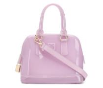Handtasche mit Vorhängeschloss