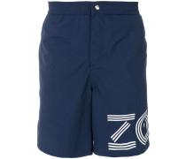 Bermuda-Shorts mit Logo-Print