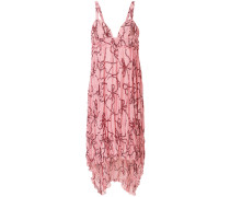 rope print dress