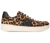 'Elliot' Sneakers mit Leoparden-Print